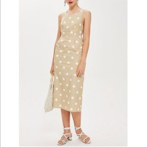 NWT size 6 Topshop polka dot summer dress